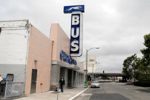 Oakland Greyhound Bus