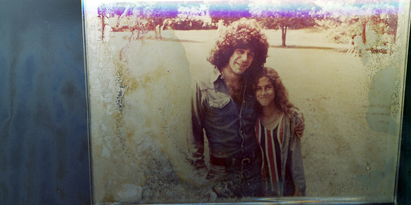 Stephen and Wendy Goodfriend at Camp Alamar in the early 70s