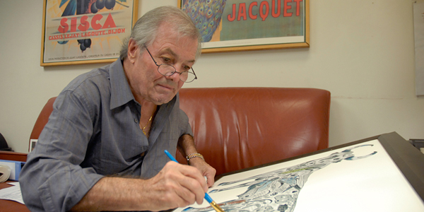 Jacques Pepin Painting