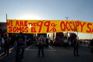 General Strike at Port of Oakland - We are the 99 percent