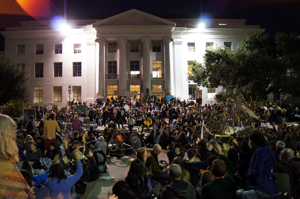 Occupy Cal Sproul Hall