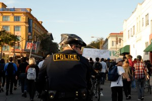 Police - 99 Percent - Occupy Cal Strike March