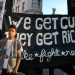 We Get Cut - They Get Rich - Strike * Fight * Resist