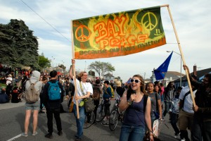 May Day March in Oakland - Bay Peace