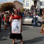 May Day March in Oakland - we will never forget john t williams
