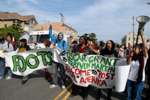 May Day March in Oakland - Roots