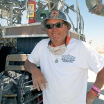 Duane Flatmo creator of El Pulpo Mechanico. Photo: Wendy Goodfriend