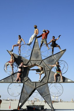 Timing is Everything / 24-7 Timestar by Charlie Smith. Photo: Wendy Goodfriend
