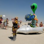Alien World art car. Photo: Wendy Goodfriend