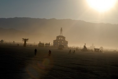 The Man at Burning Man. Photo: Wendy Goodfriend
