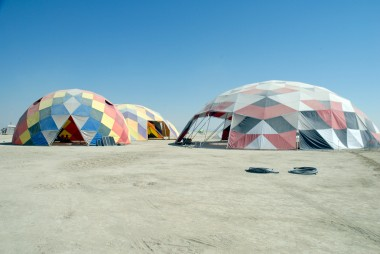 Rainbow Domes. Photo: Wendy Goodfriend