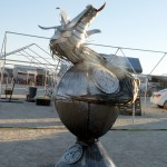 Dragon Smoker by Nina Carter and Mark Hogenson. Photo: Wendy Goodfriend