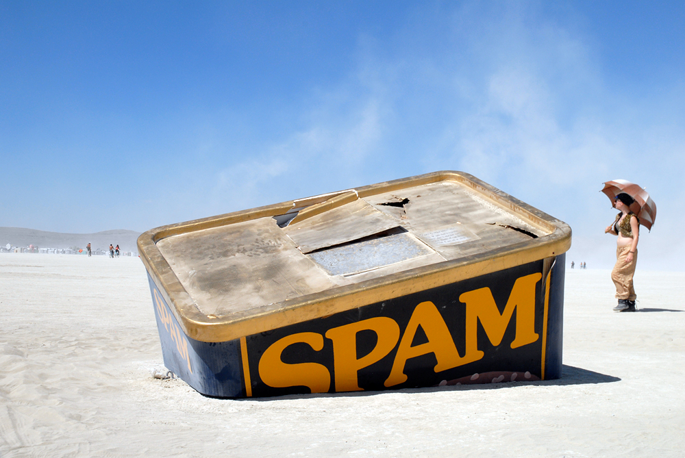 SpamTanic by Karen Weir. Photo: Wendy Goodfriend