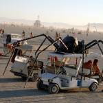 Spider art car. Photo: Wendy Goodfriend