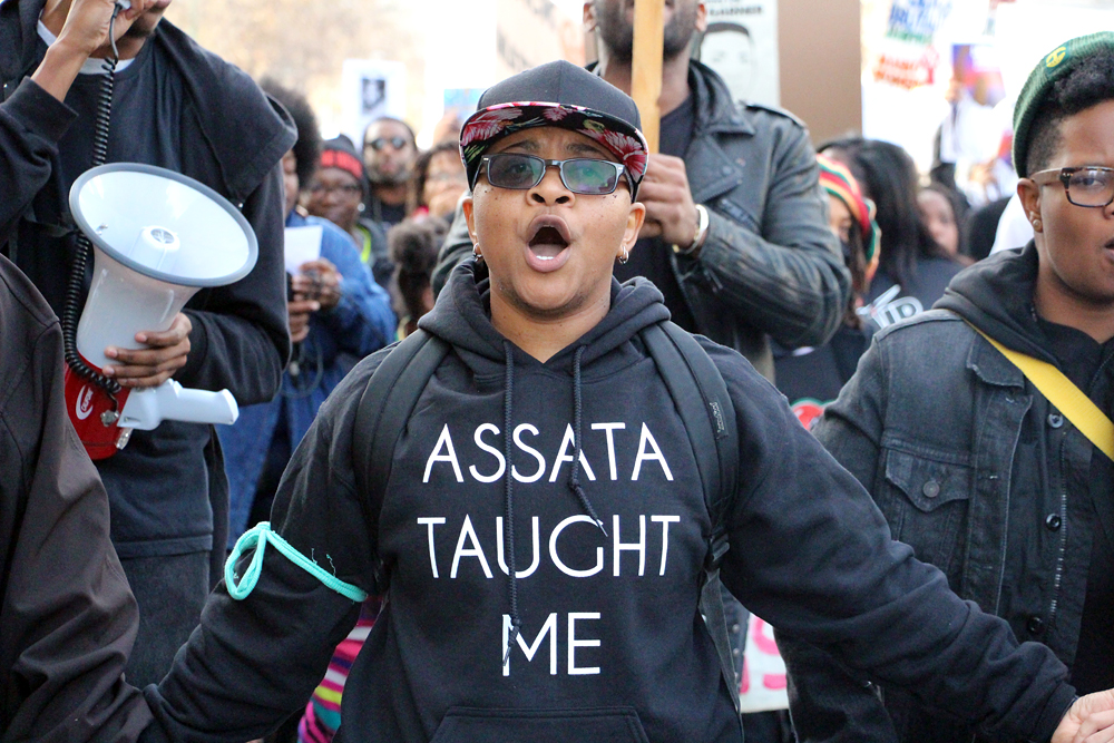 Assata Taught Me. Photo: Wendy Goodfriend