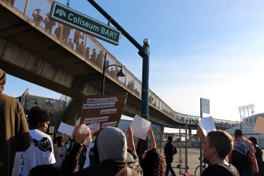The March at Oakland Coliseum BART