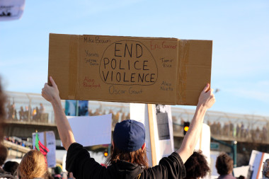 End Police Violence. Photo: Wendy Goodfriend