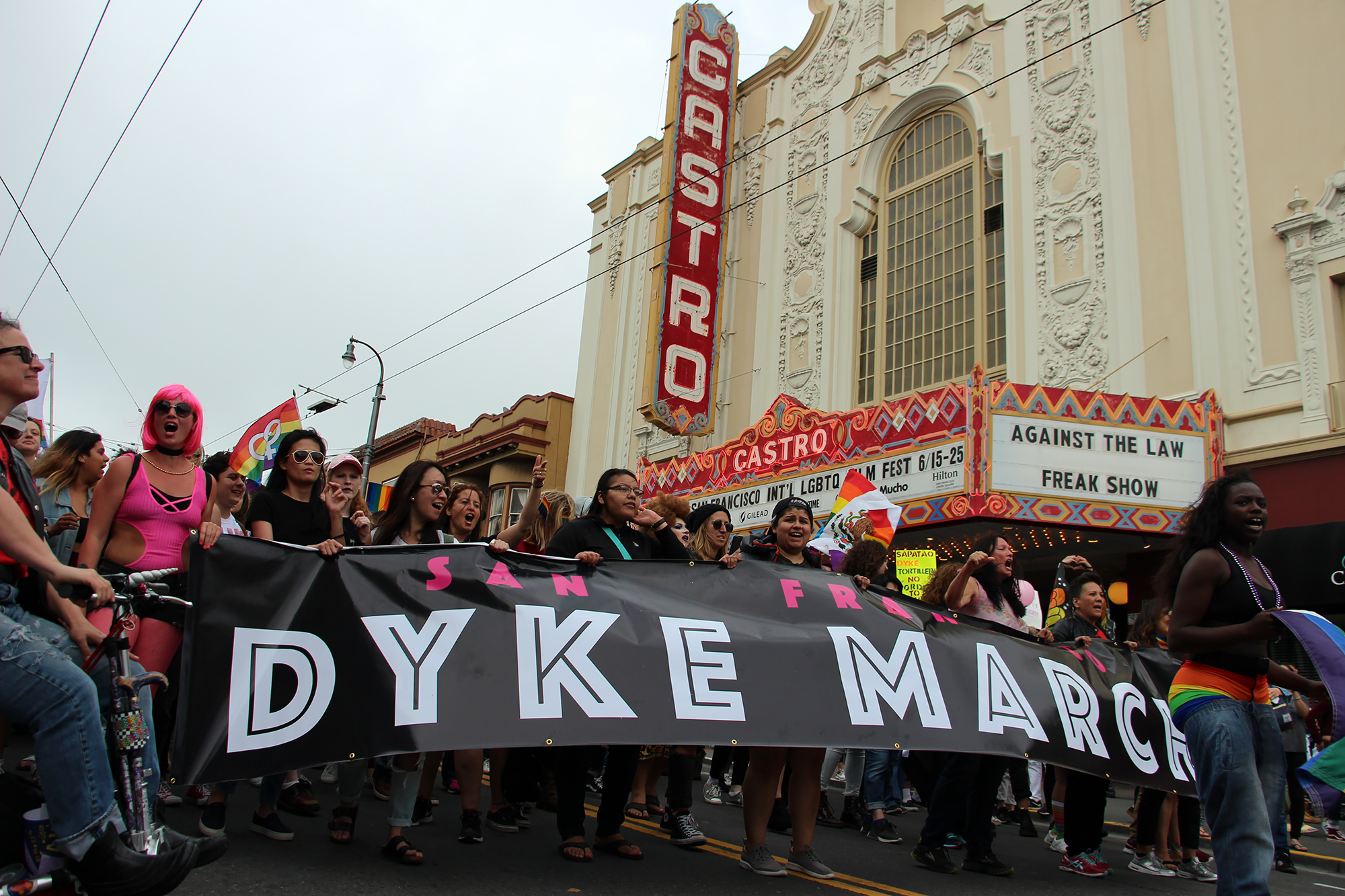 The 25th San Francisco Dyke March 2017