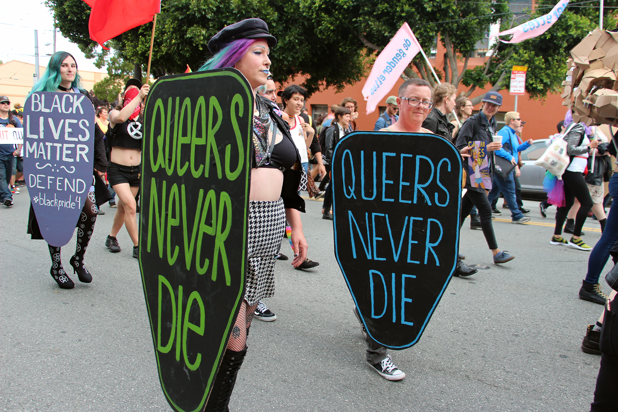 Queers Never Die