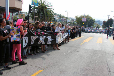 SF Dyke March about to begin