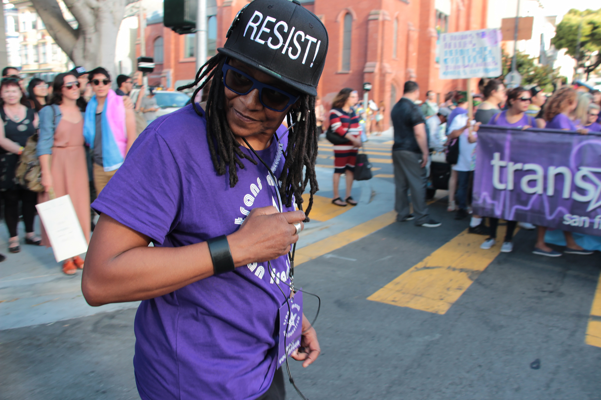 Trans March SF - Resist - Alex U. Inn