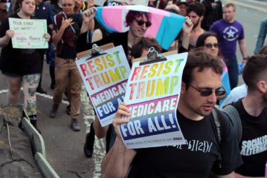 Resist Trump Medicare For All! Trans March SF 2017